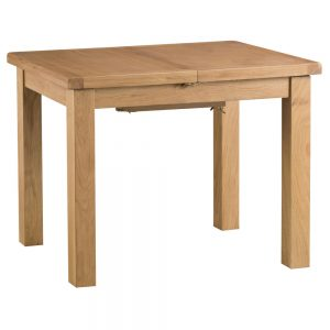 Oakley Rustic 100-140cm Butterfly Ext Dining Table