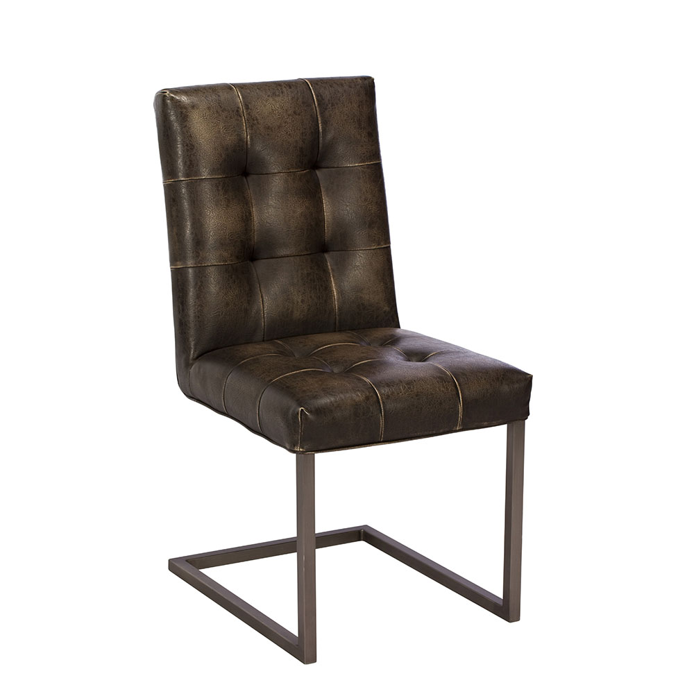 Rupert Dining Chair Brown (Grey)