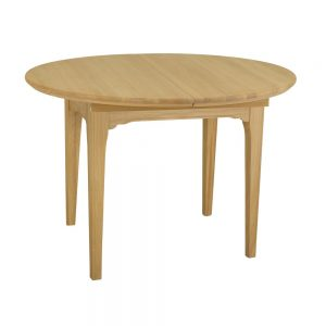 New England Round 113-148cm Extending Table