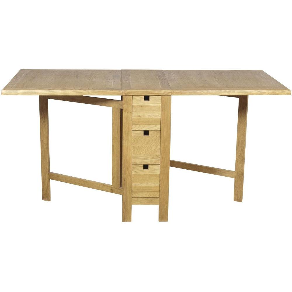 Downton Oak Gate Leg Table