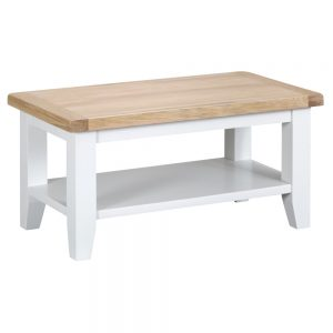 Henley White Small Coffee Table