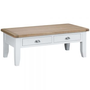 Henley White Large Coffee Table