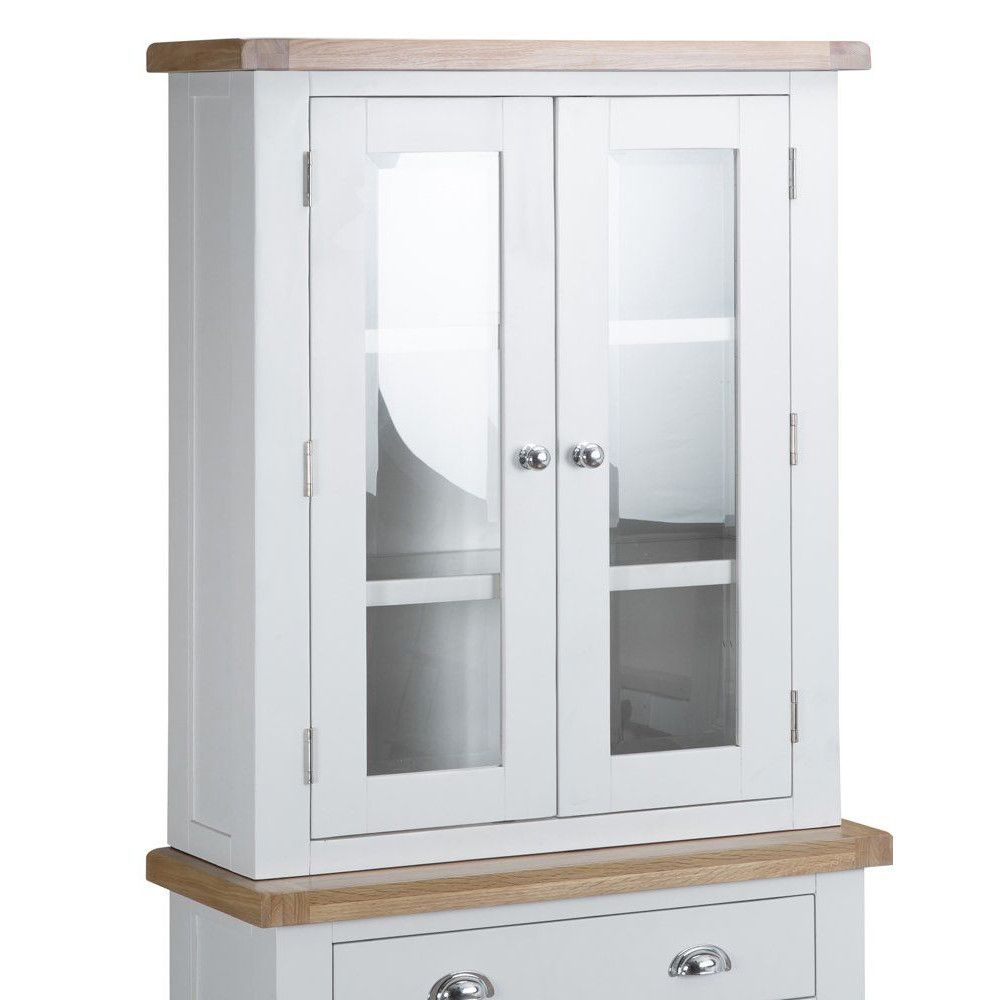 Henley White Small Dresser Top