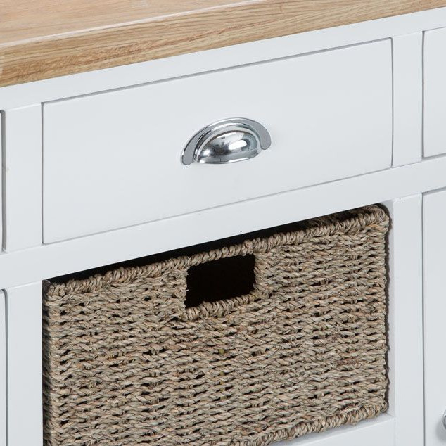 Henley White Large Sideboard