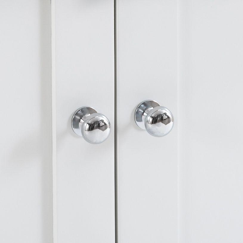Henley White 4 Door Sideboard