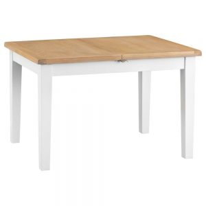 Henley White 120-165cm Butterfly Table
