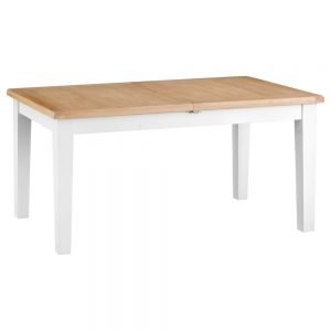 Henley White 160-210cm Butterfly Table
