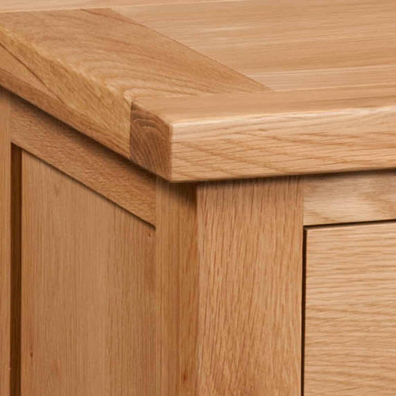 Maiden Oak Side Table with Drawer