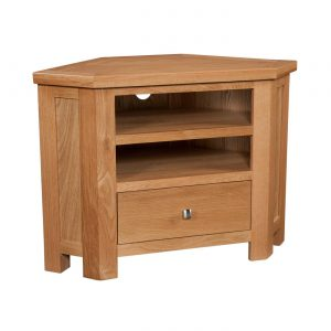 Maiden Oak Corner TV Unit