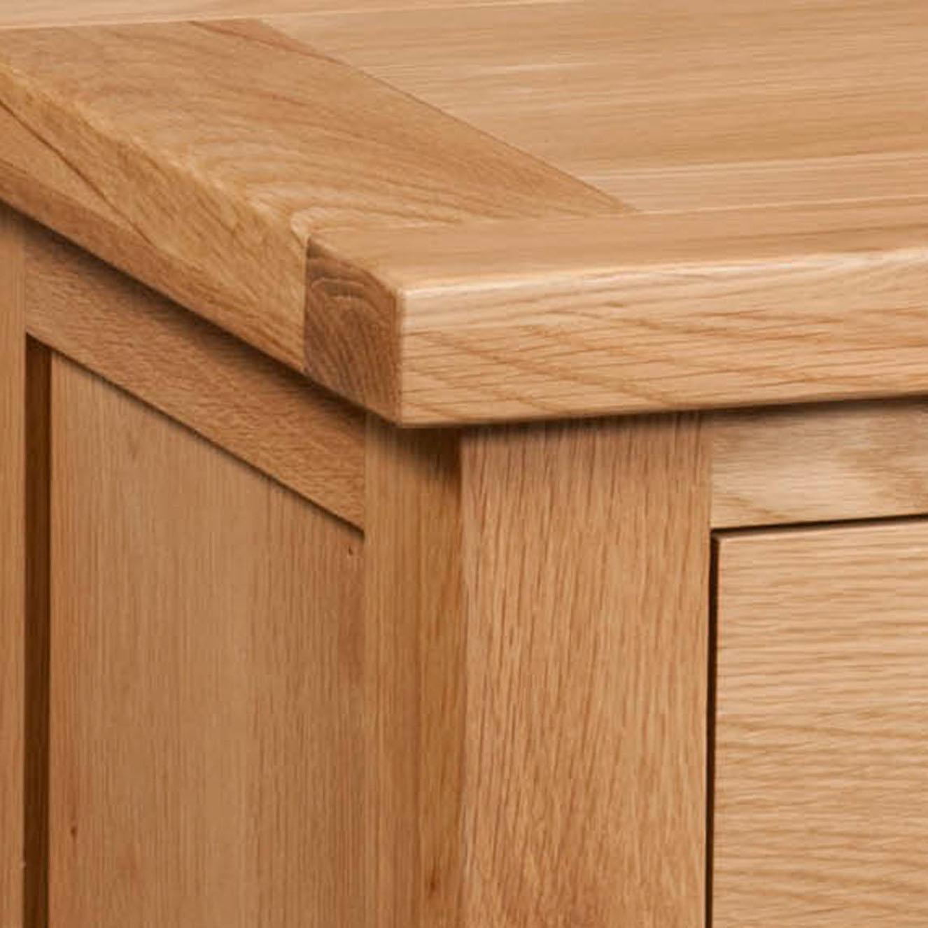 Maiden Oak 2 Door Cabinet