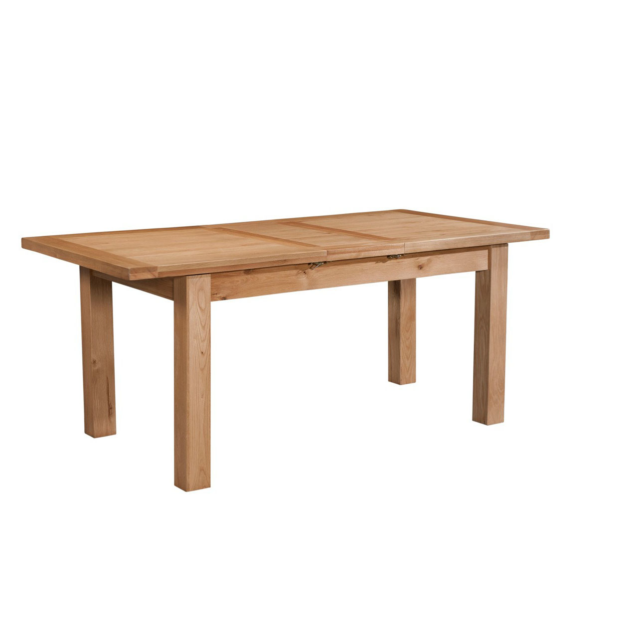 Maiden Oak Dining Table with 1 Extension 120-153cm