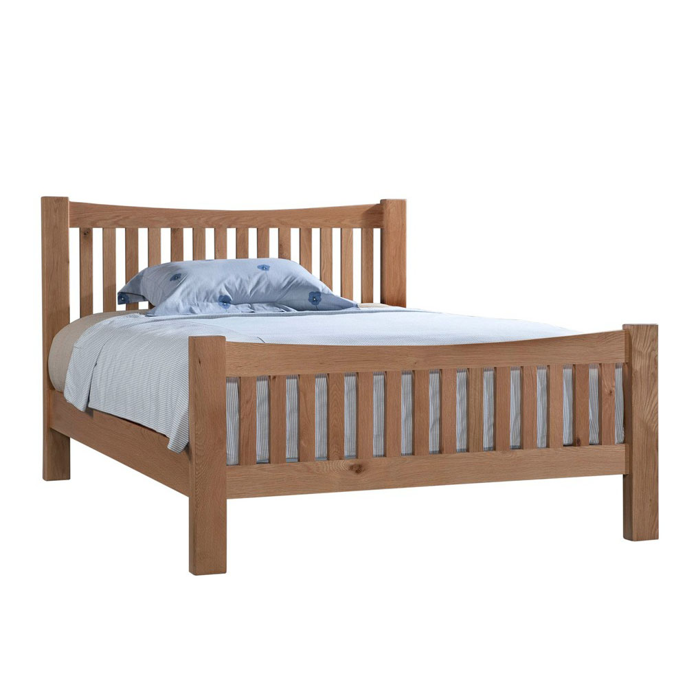 Maiden Oak 5ft Double High End Bed (150cm)