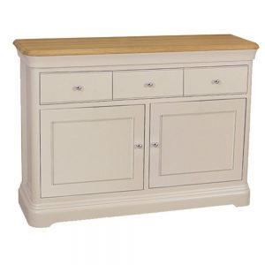 Stag Cromwell Small 2 Door 3 Drawer Sideboard