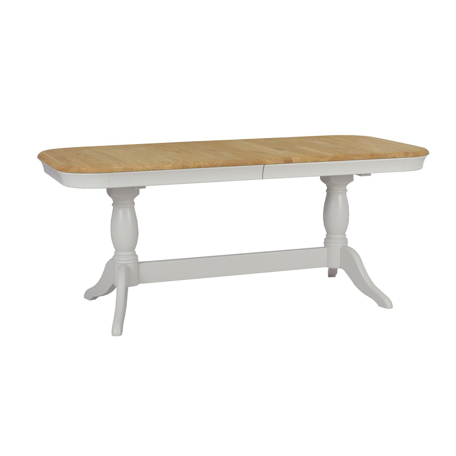 Stag Cromwell 180-230cm Twin Pedestal Dining Table