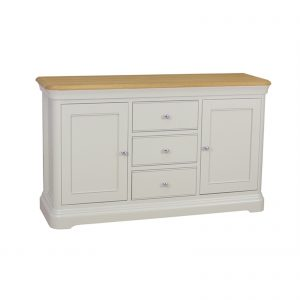 Stag Cromwell 2 Door 3 Drawer Sideboard