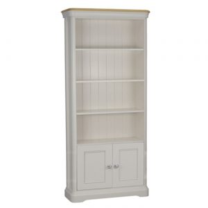 Stag Cromwell Bookcase with 2 Doors
