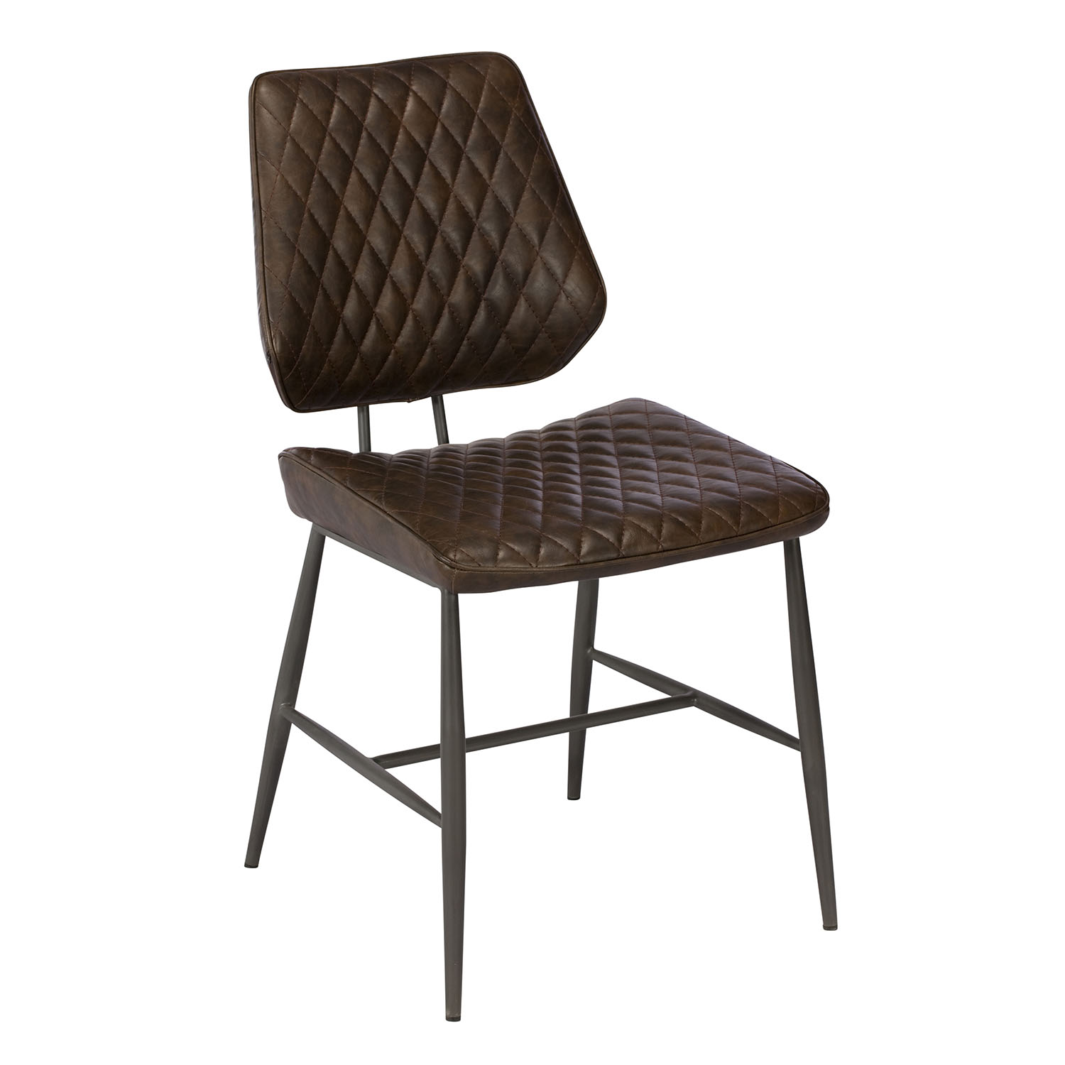 Dalton Dining Chair Dark Brown