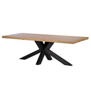 Camden Light 200cm Star Base Dining Table