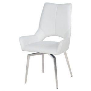 Tallinn Swivel Dining Chair White