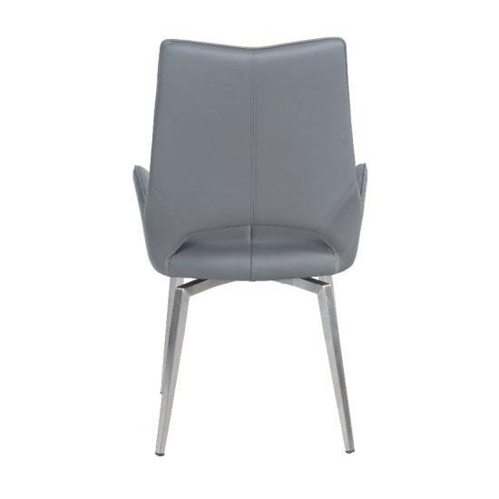 Tallinn Swivel Dining Chair Grey