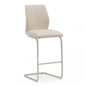 Eclipse Bar Stool - Taupe
