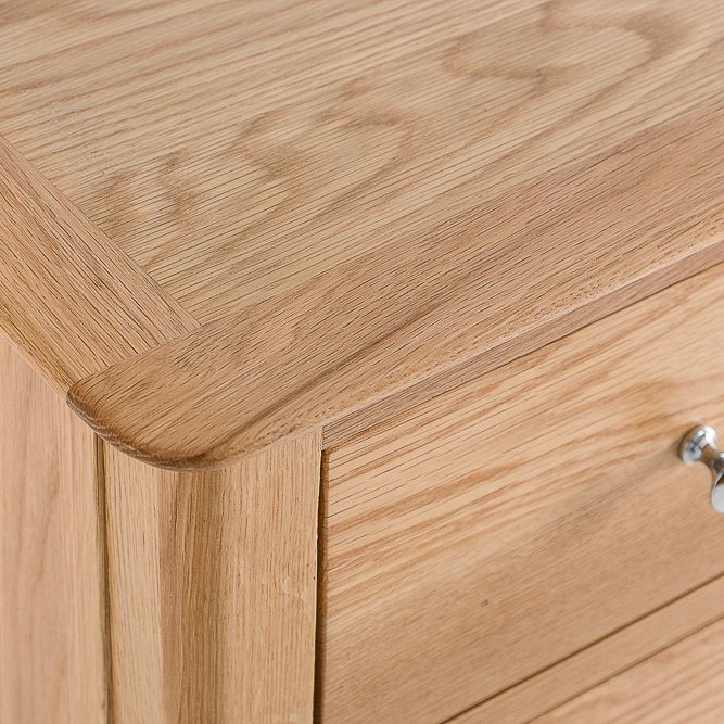 Woodley 4 Drawer Narrow Chest