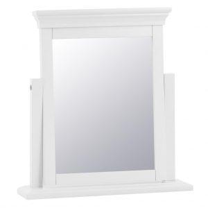 Croft White Trinket Mirror