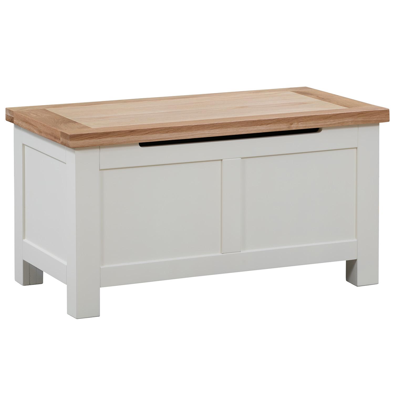 Maiden Oak Painted Blanket Box
