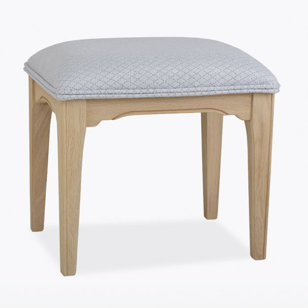 Stag New England Bedroom Stool Fabric