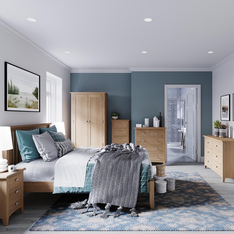 Hurstley Small Bedside Cabinet