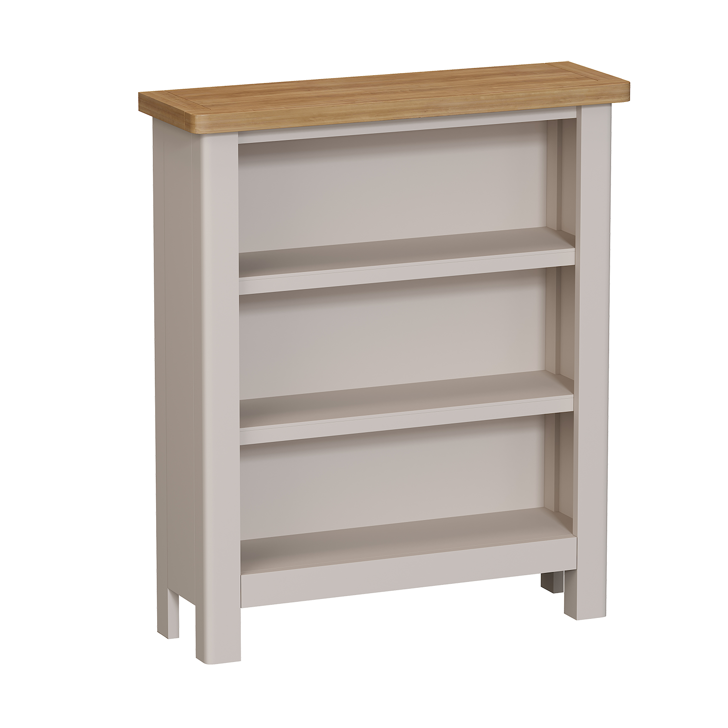 Chiltern Dove Small Wide Bookcase