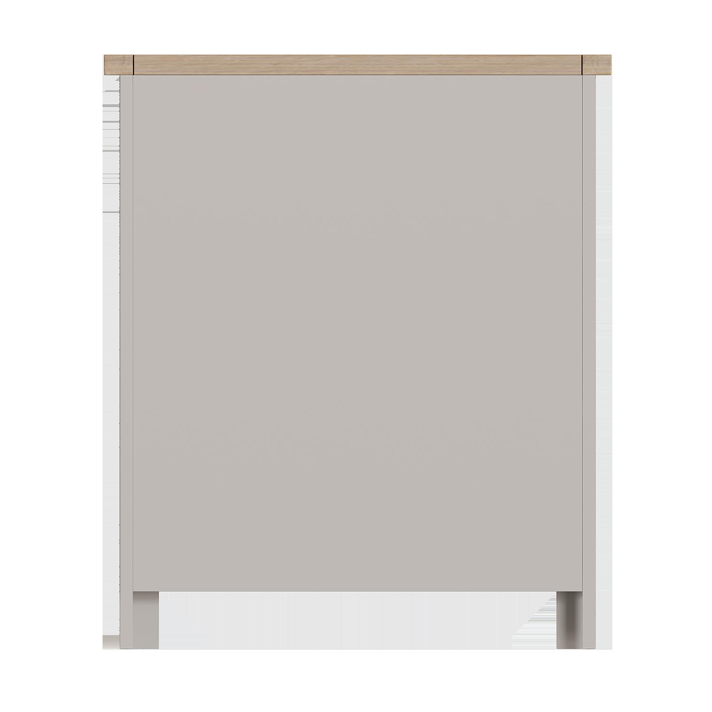 Chiltern Dove Small Wide Bookcase