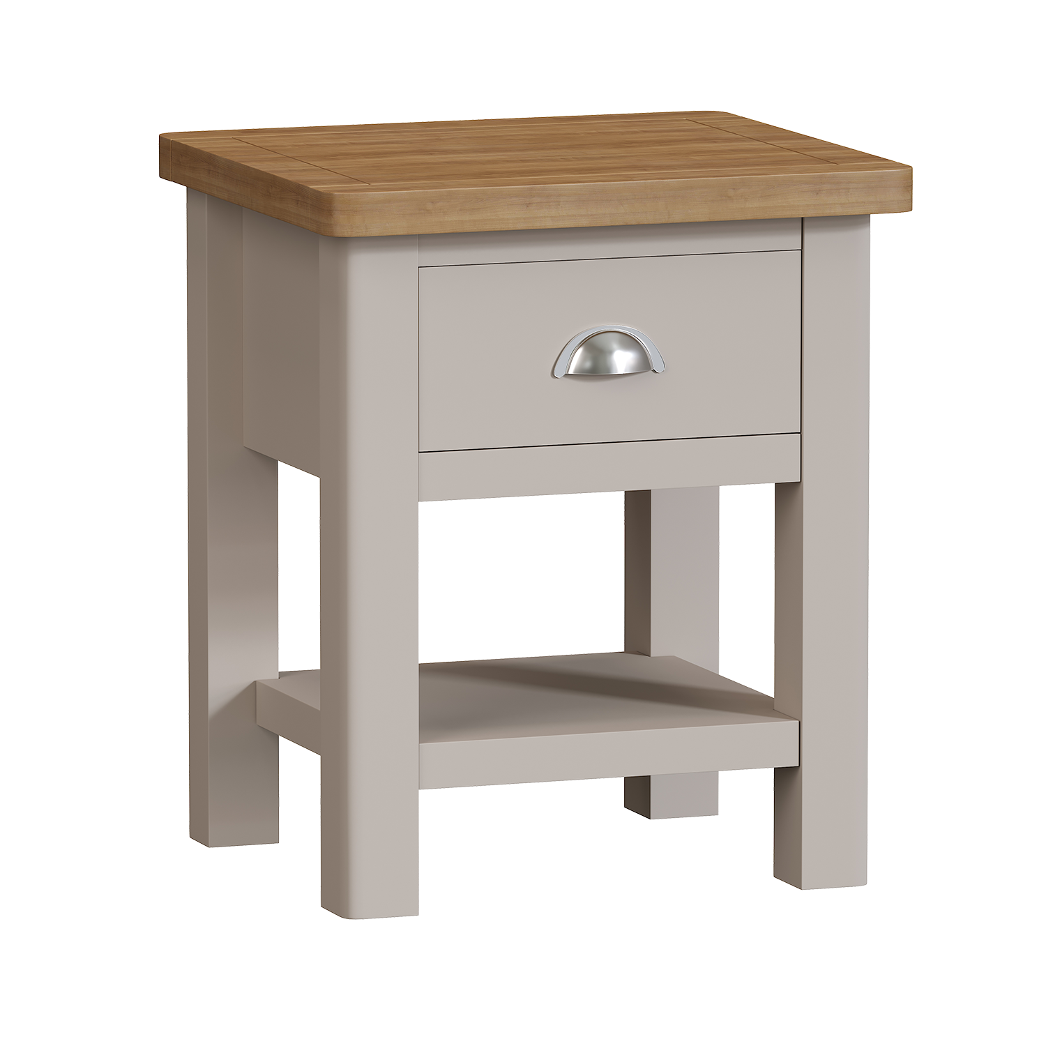 Chiltern Dove 1 Drawer Lamp Table