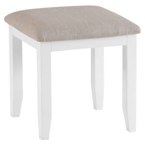 Henley White Stool