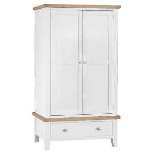 Henley White Large 2 Door Wardrobe