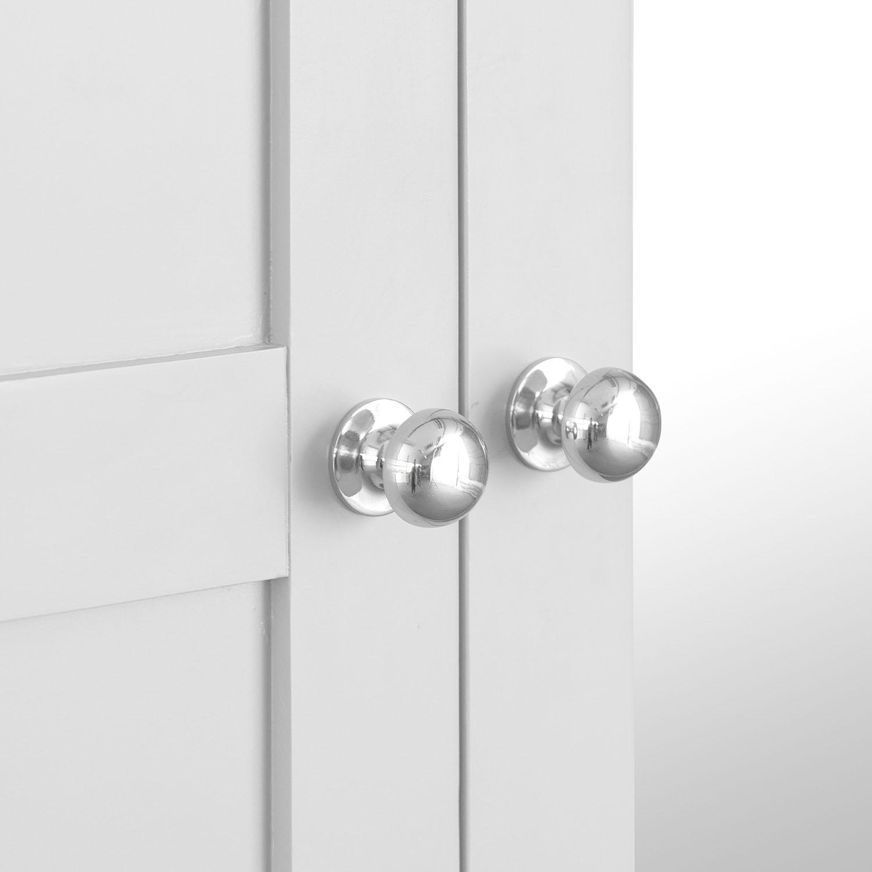 Henley White Large 3 Door Wardrobe