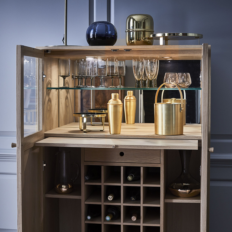 Ercol Ballatta Drinks Cabinet