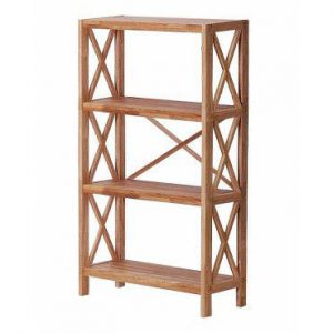 Regal Oak 4 Shelf Unit