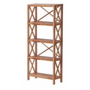 Regal Oak 5 Shelf Unit