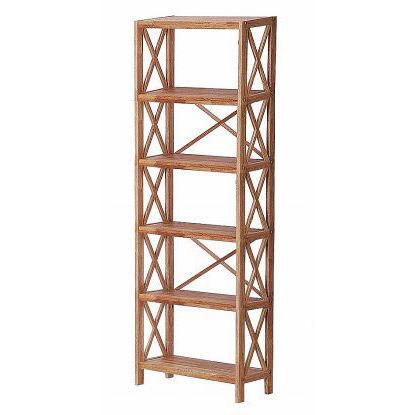 Regal Oak 6 Shelf Unit