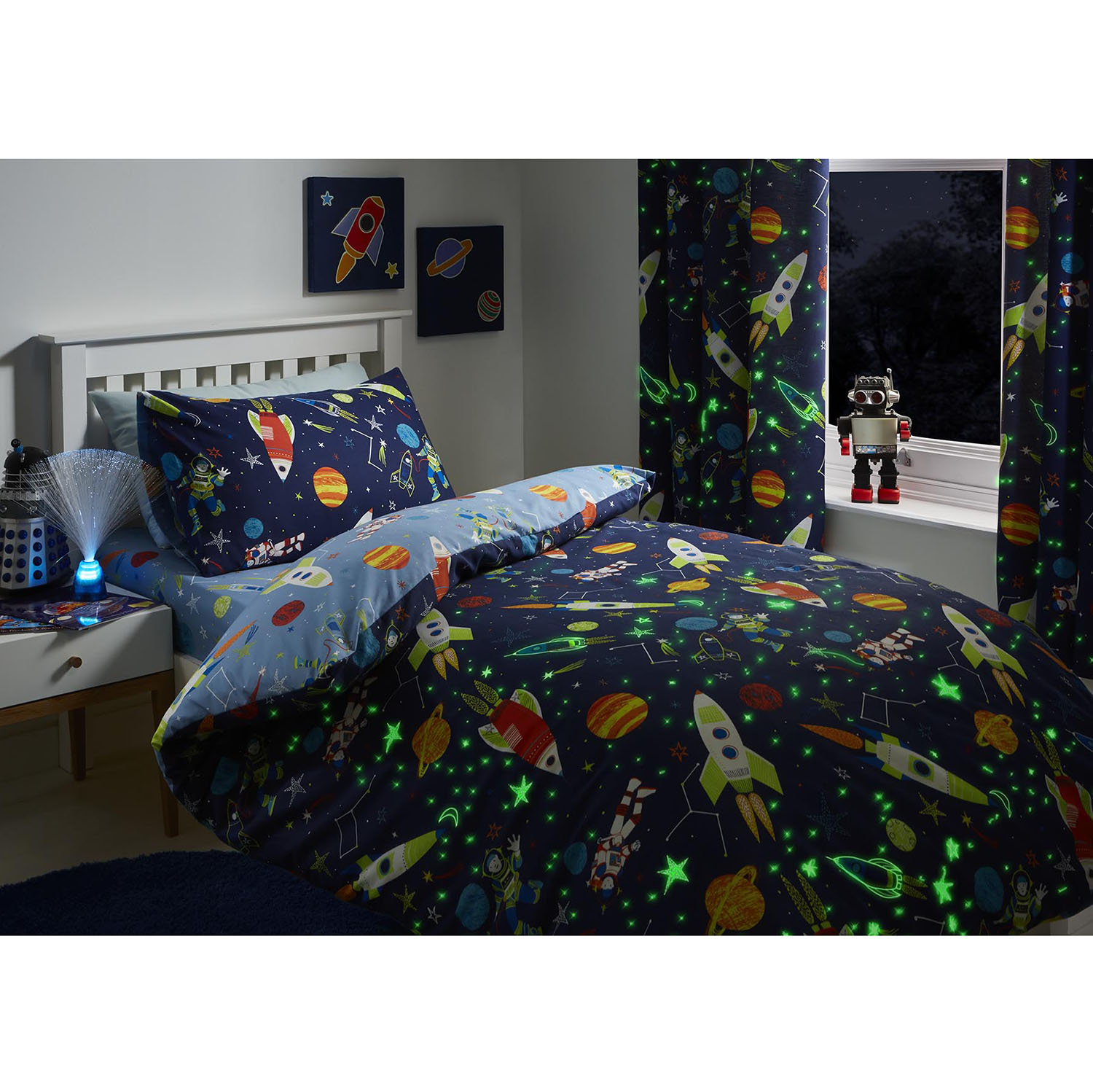 Dreams & Drapes Super Sonic Duvet Set