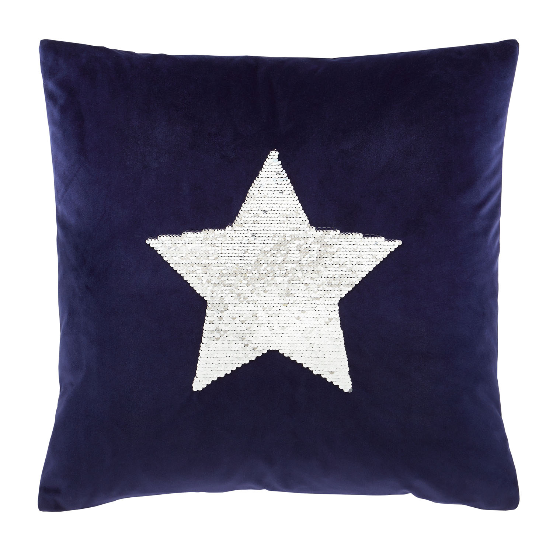 Catherine Lansfield Christmas Star Cushion