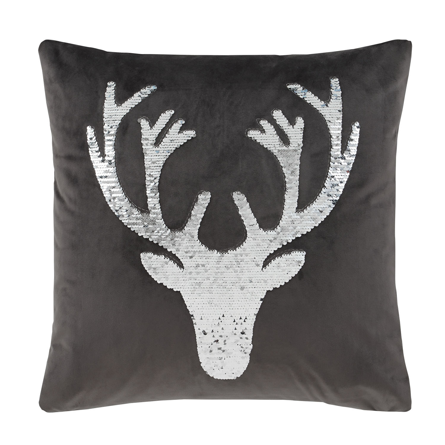 Catherine Lansfield Christmas Stag Cushion