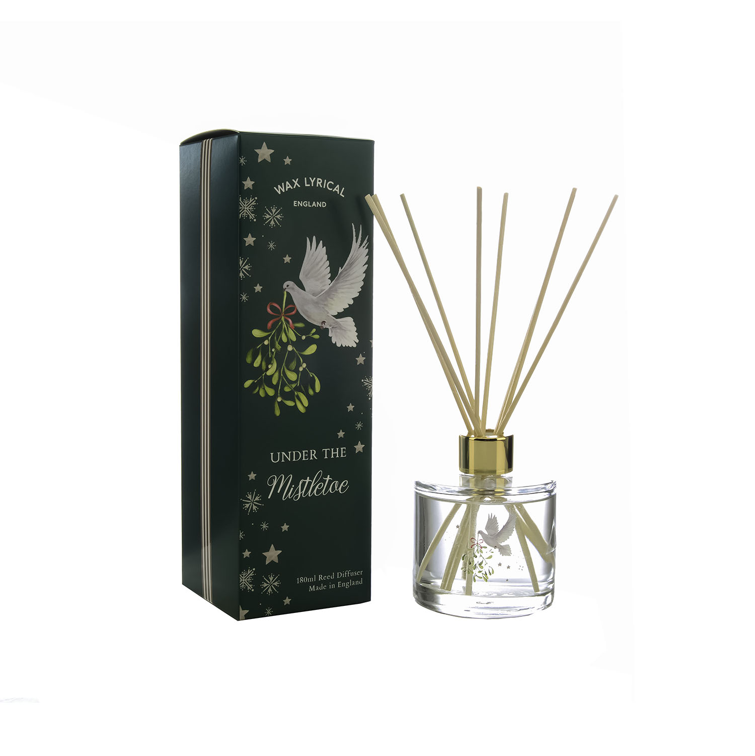 Wax Lyrical Under the Mistletoe Reed Diffuser 180ML