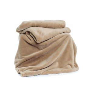 Deyongs Snuggle Touch Throw 140x180 Pebble