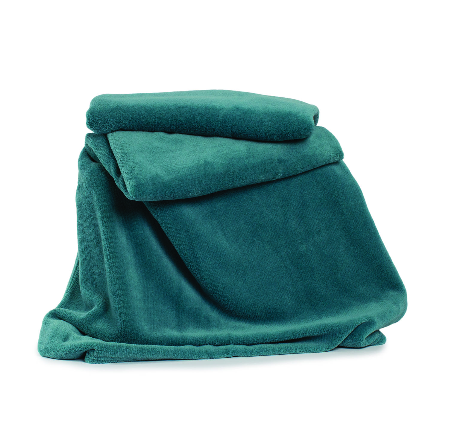Deyongs Snuggle Touch Throw 140x180 Everglade