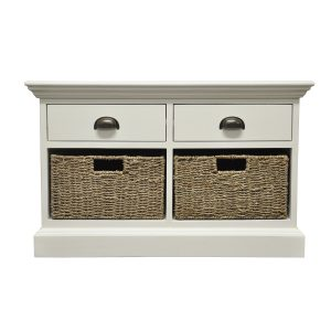 Stamford 2 Drawer 2 Basket Unit