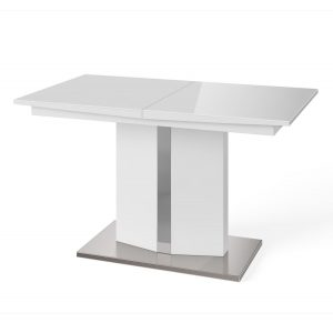 Samara Extending Dining Table White