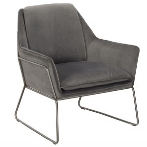 Karla Accent Chair - Grey