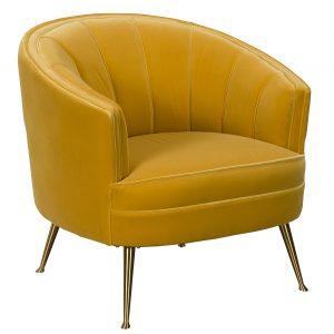 Mariah Accent Chair - Yellow